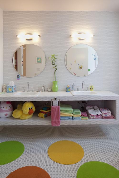 Ideas de decoración de baños para niños (fotos) — idealista/news