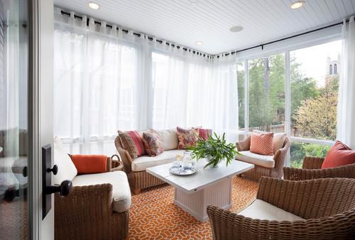 Ideas de decoraci n c mo elegir las cortinas para la casa - Cortinas para casa rustica ...