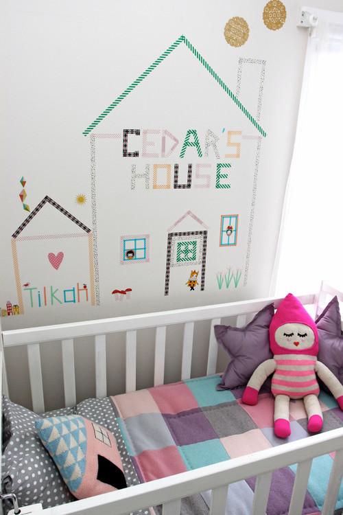 Decoraci n de habitaciones infantiles ideas para pintar - Pintar paredes infantiles ...