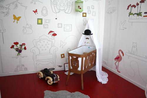 Decoración De Habitaciones Infantiles Ideas Para Pintar Las Paredes