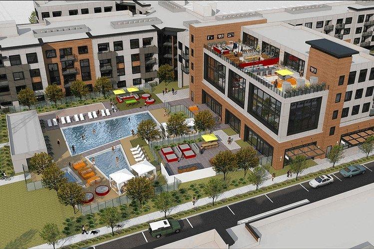 así es la ciudad que facebook está construyendo para sus empleados. foto: ktgy group