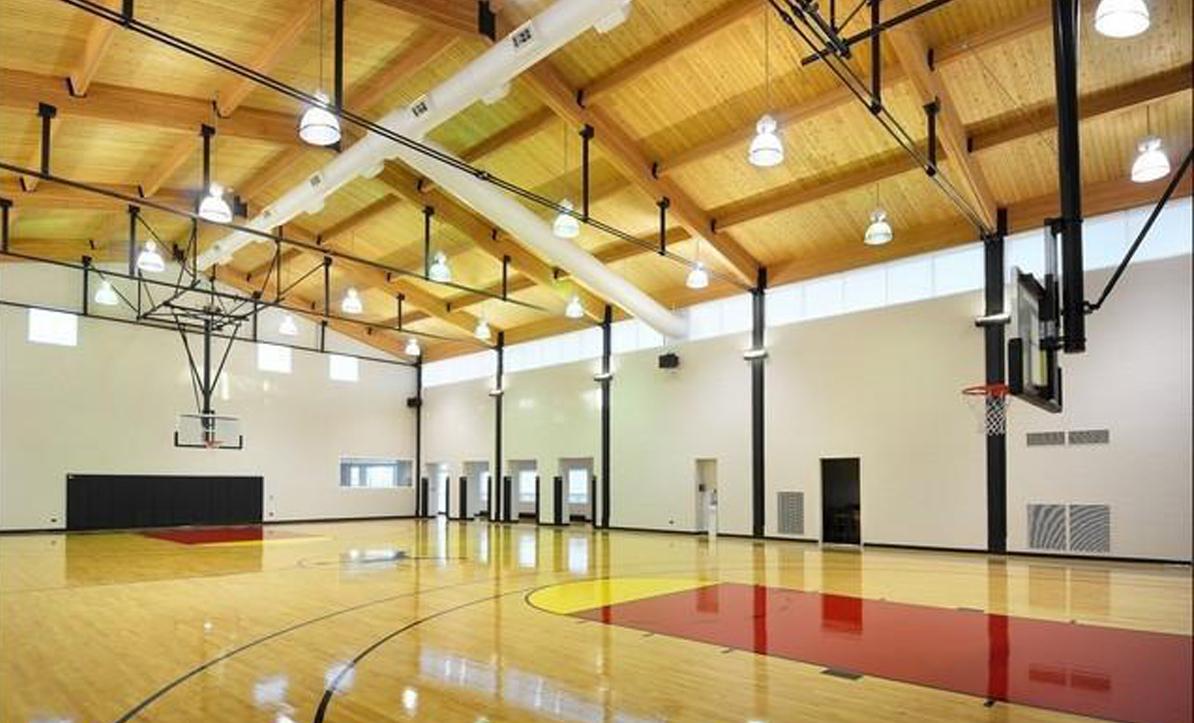 legend point es una residencia de casi 10.000 metros cuadrados situada a las afueras de chicago