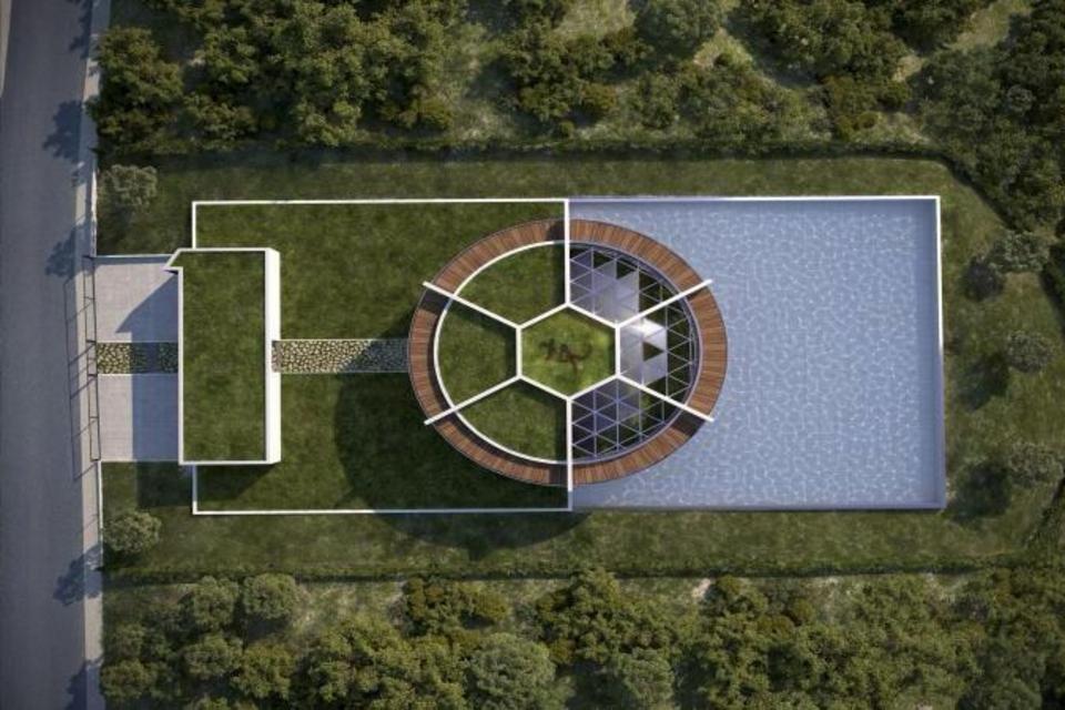 As es la impresionante pero falsa mansi n futbolera que - Arquitecto espanol famoso ...