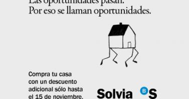 solvia lanza su campaña 'las oportunidades pasan'