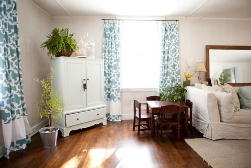 ideas de decoración rural para sala de estar Ideas De Decoracin Cmo Elegir Las Cortinas Para La Casa