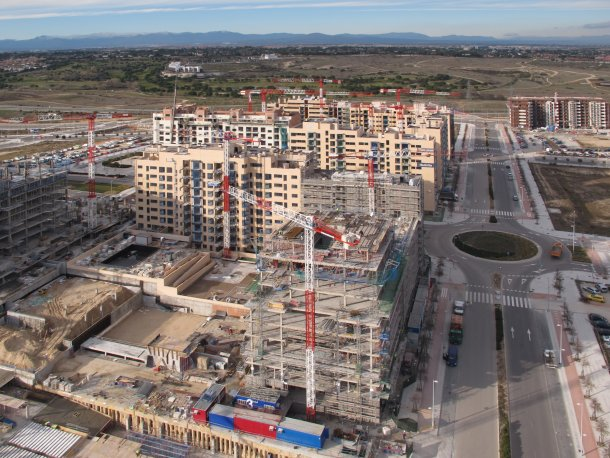 foto panorámica del pau de valdebebas (madrid)