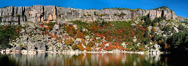 imagen de la laguna negra. foto: daniel castillo