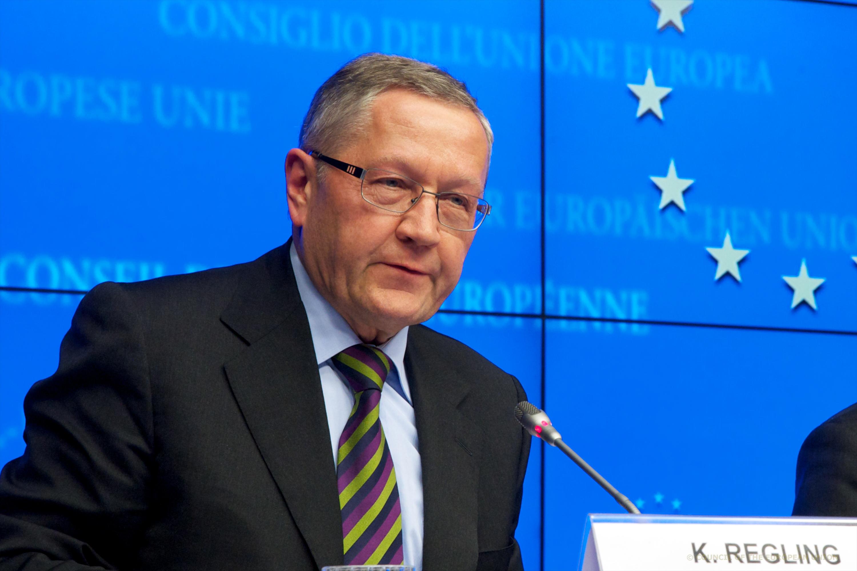 klaus regling, director gerente del mecanismo europeo de estabilidad (mede)