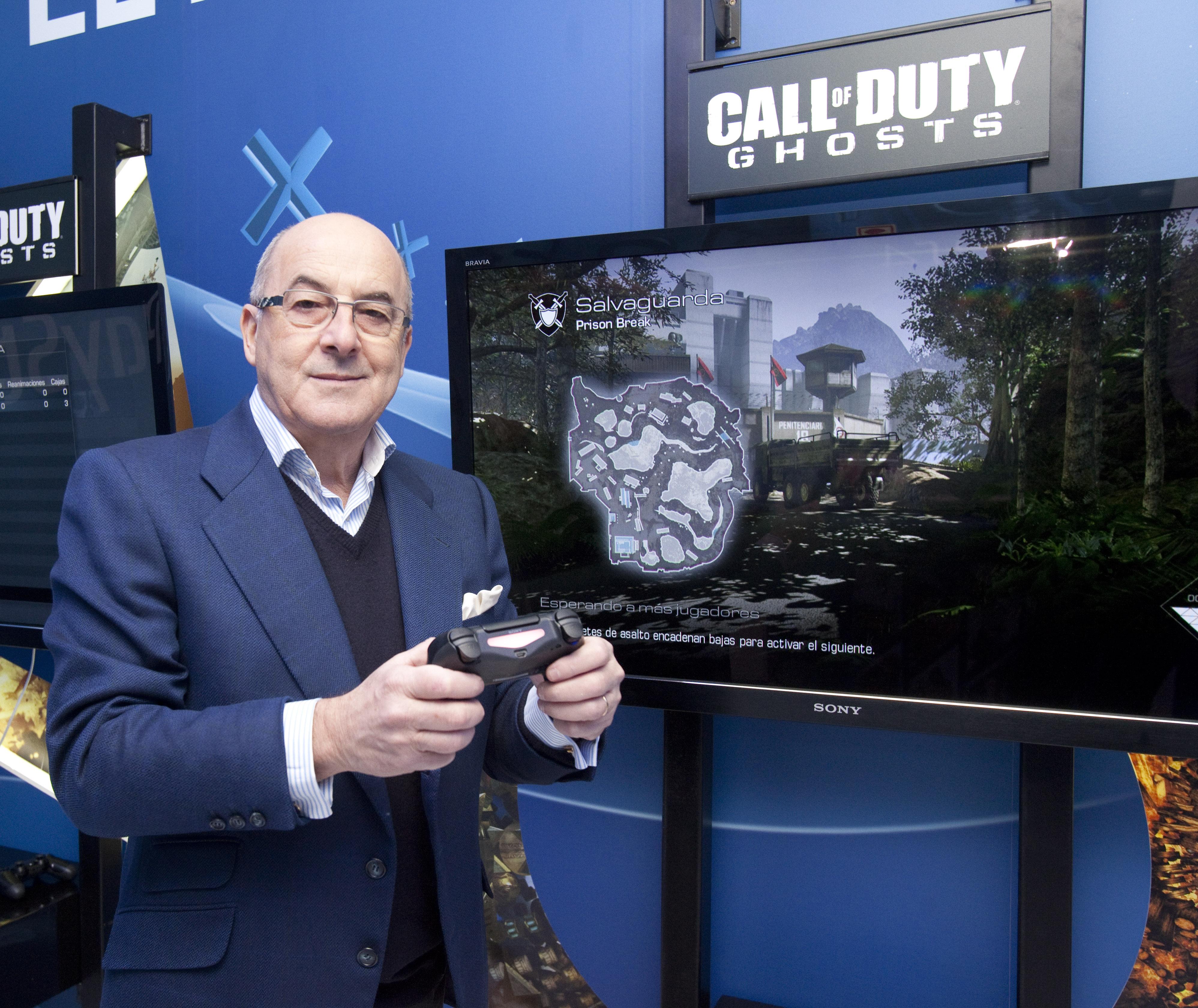 james armstrong, vicepresidente senior de sony computer entertainment para el sur de europa