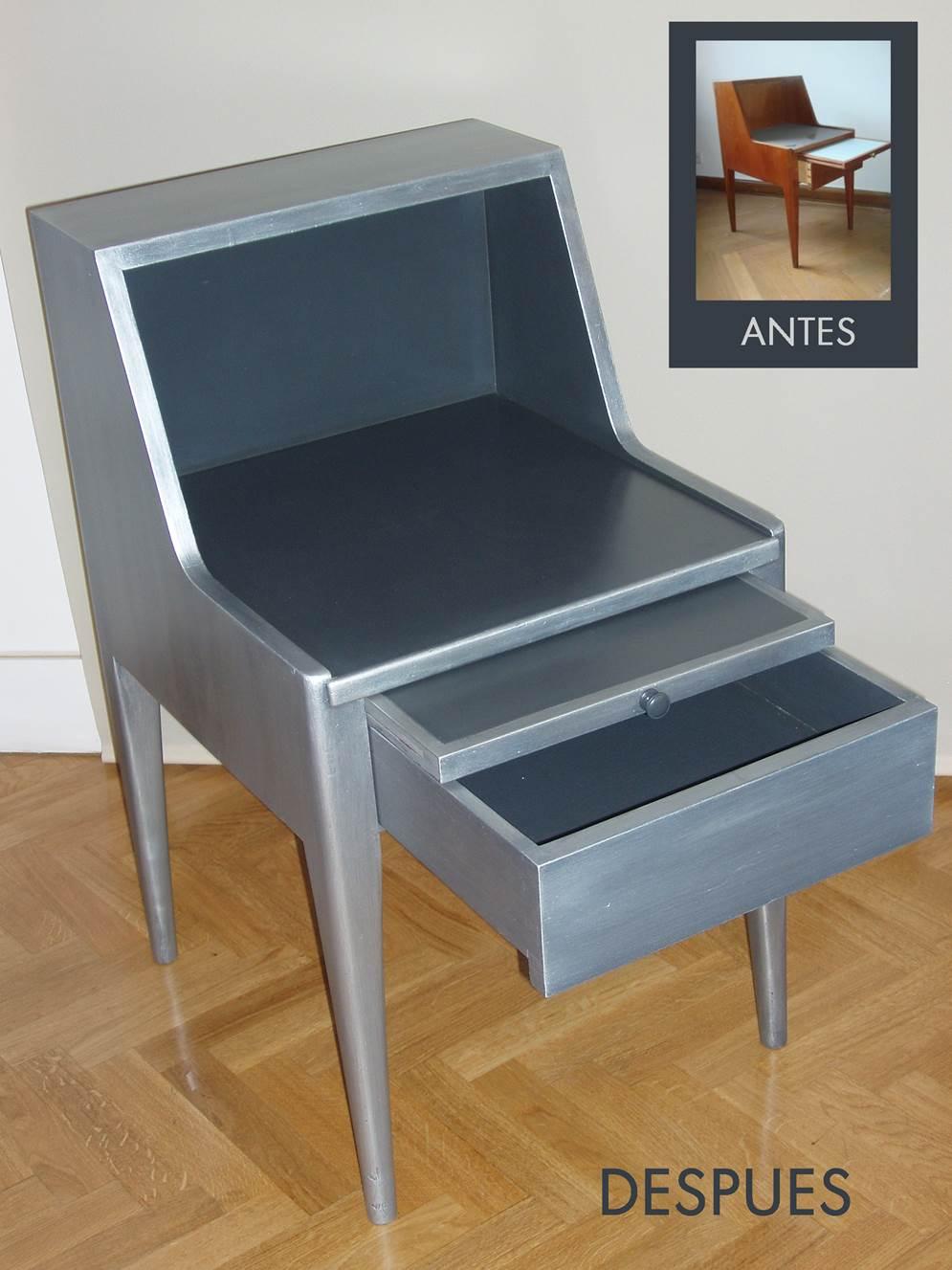 Moderniza Tus Muebles Antiguos Y Da Un Toque Especial A Tu Hogar  # Muebles De Caoba