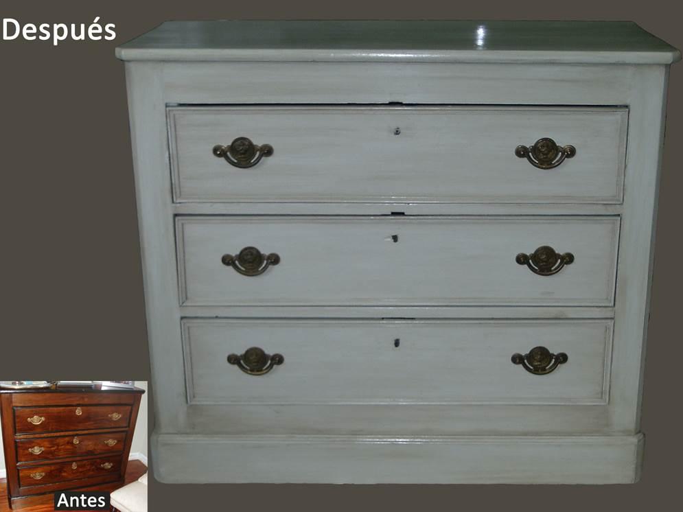 Moderniza tus muebles antiguos y da un toque especial a tu - Modernizar muebles clasicos ...