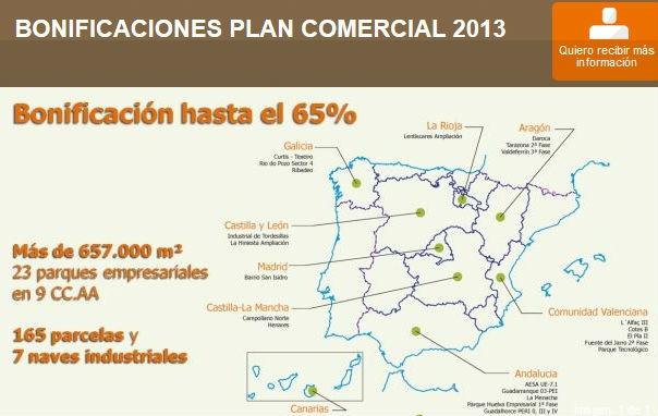 fomento lanza un plan para vender suelo  industrial desde 30 euros por m2