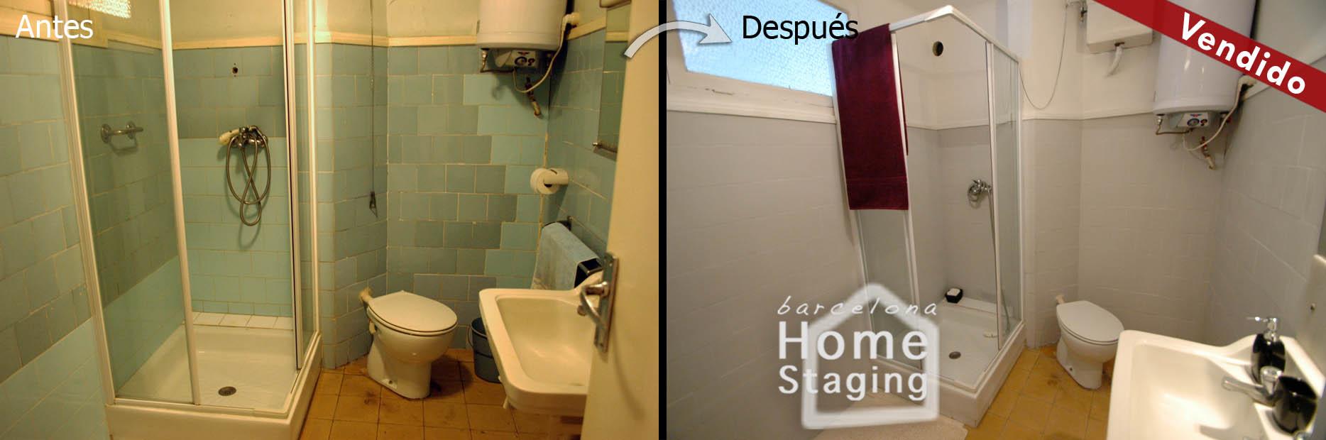 Ideas de decoraci n ba os peque os y modernos idealista - Se puede cambiar el bano de sitio en un piso ...