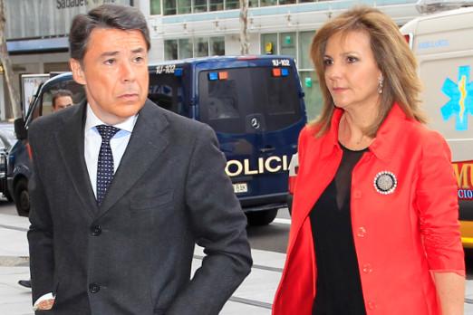 ignacio gonzález, presidente de la comunidad de madrid, y su esposa