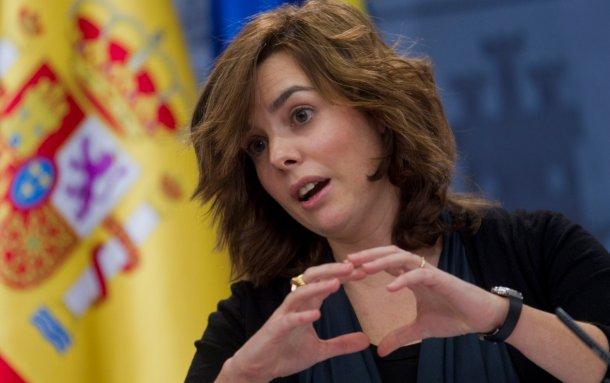 soraya sáenz de santamaría, vicepresidenta de gobierno