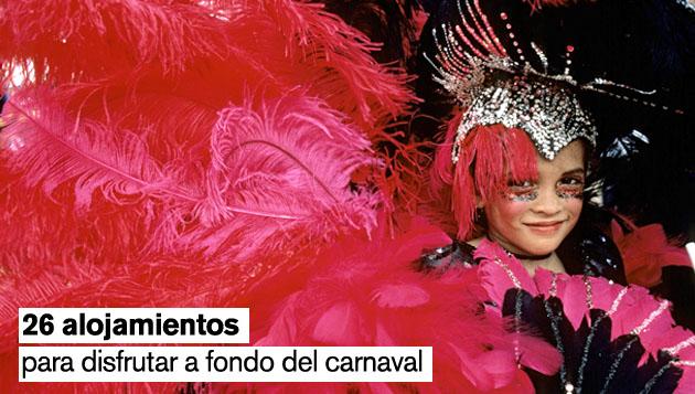 febrero es sinónimo de disfraces y de fiesta gracias al carnaval. foto: gtres