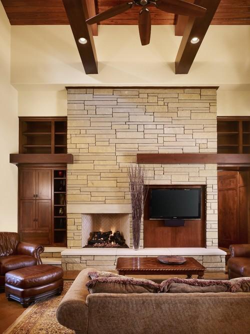 Ideas de decoración: 6 formas de combinar la televisión y la ...