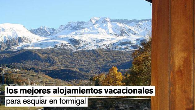 18 villas vacacionales en formigal