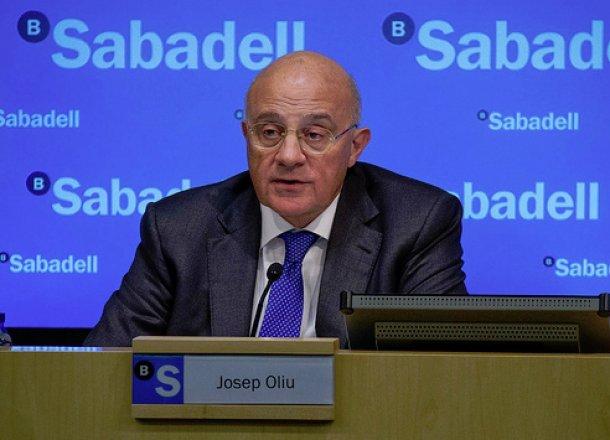 josep oliú, presidente de banco sabadell