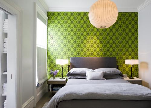 Ideas para decorar de forma original las habitaciones con papel pintado idealista news - Habitaciones con papel pintado y pintura ...