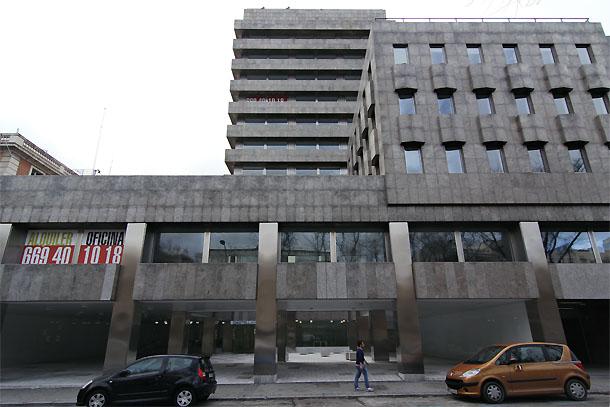 el edificios que será la nueva sede de s&p en madrid