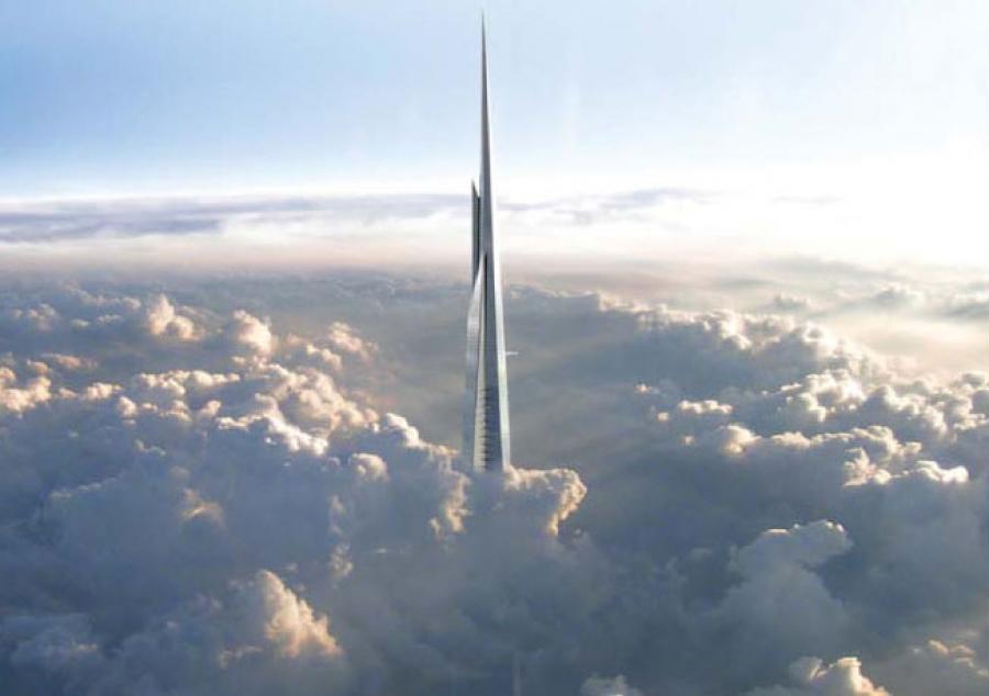 la kingdom tower será la torre más alta del planeta cuando esté terminada en 2019