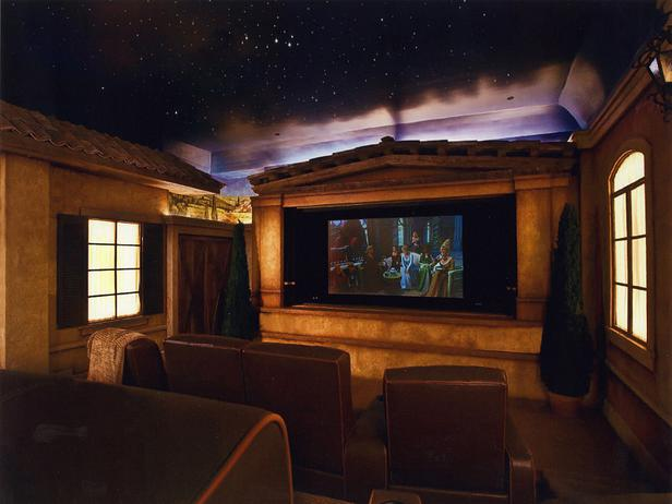 Home Entertainment Design Ideas: Las Ideas Más Extravagantes Para Hacer Un Cine En Casa: De