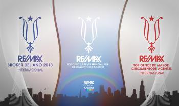 re/max arcoíris es la primera franquicia de nuestro país en recibir el premio a 'mejor bróker internacional del año'