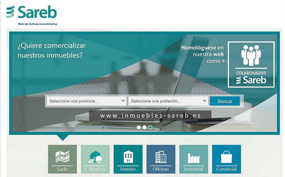 Sareb crea una p gina web para vender sus inmuebles a for Bankia habitat oficinas