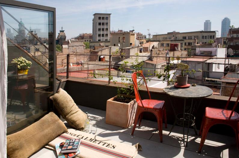 Decoraci n chill out ideas para crear una zona de - Hacer terraza en piso ...