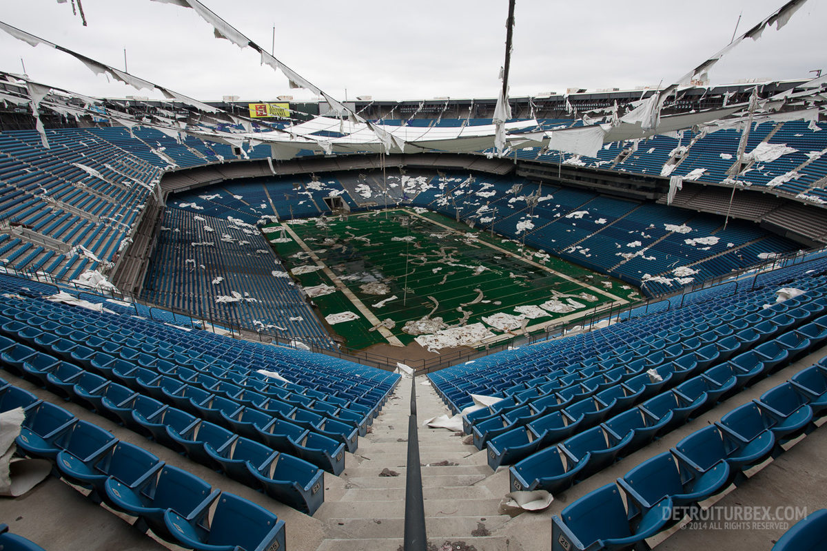 Fuera De Juego As 237 Languidece El Silverdome De Detroit