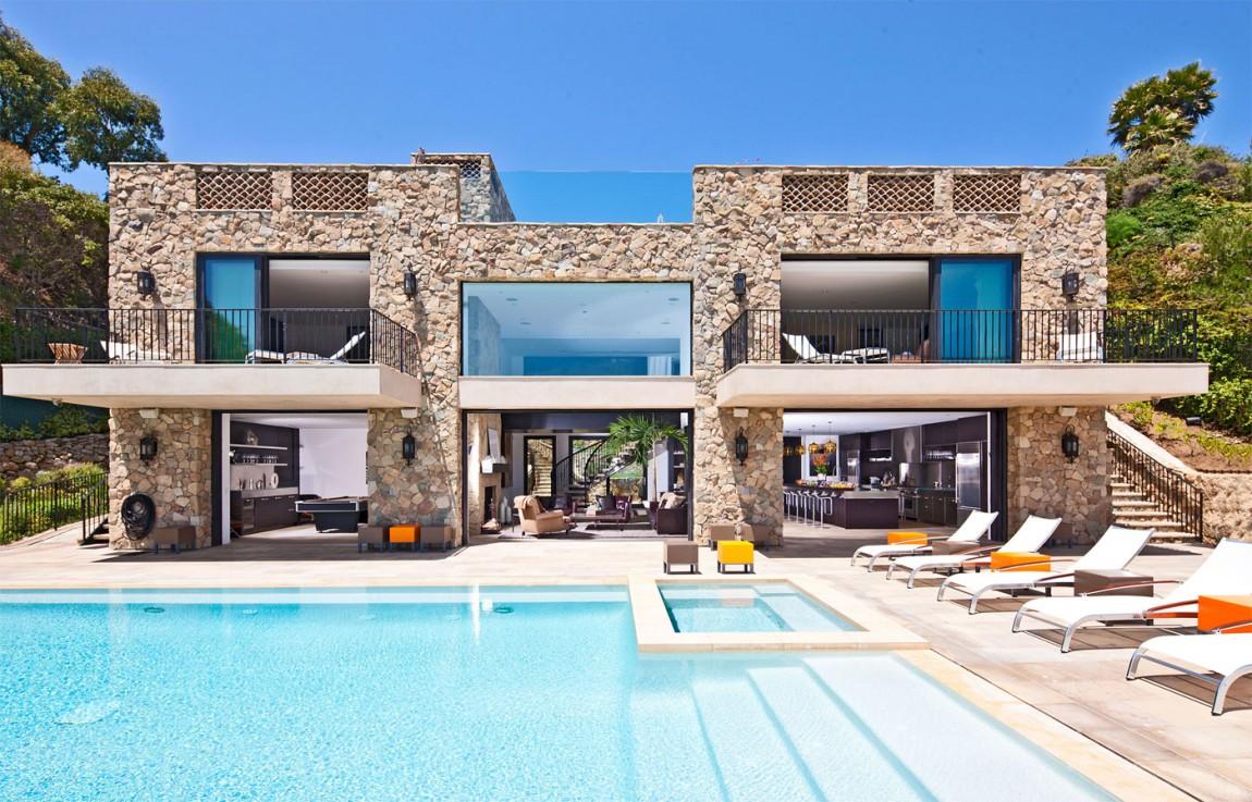 Casas de ensue o una villa de estilo italiano con spa en - Casas de ensueno ...