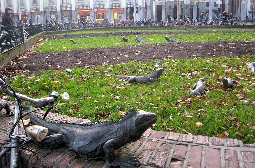 Iguana park (Ámsterdam, Holanda)