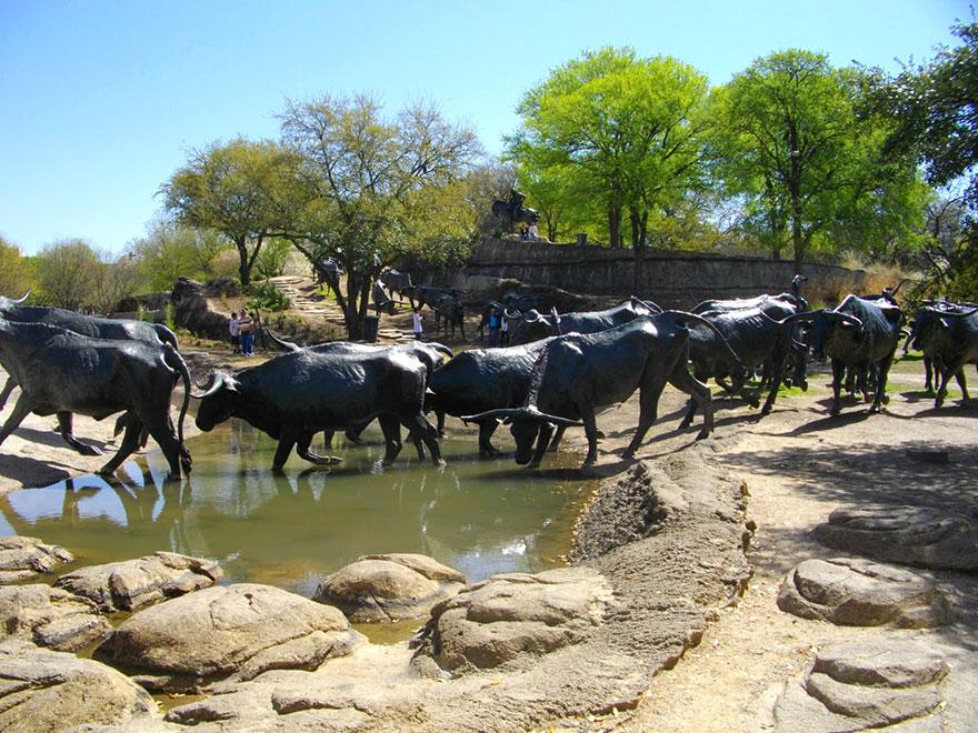 Cattle Drive (Texas, EEUU)
