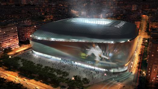 así lucirá el nuevo santiago bernabéu, cuya finalización se estima para 2017