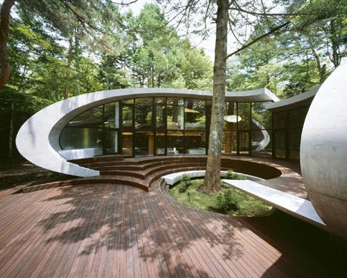 """""""shell house"""" de kotaro ide (fuente:artechnic)"""