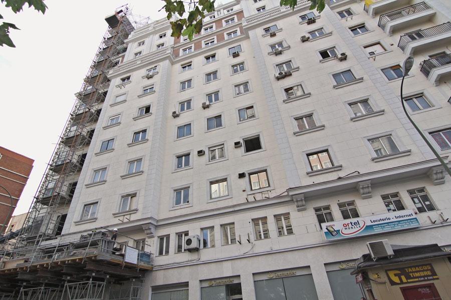fachada edificio intercontinental (fotos: idealista news/luis manzano)