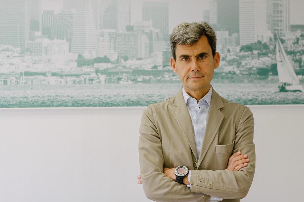 Javier Hortelano de la Lastra, presidente de la AECC (Fotos: Idealista News/Dani Castillo)