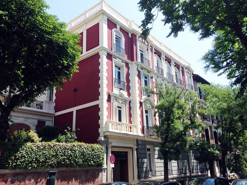oficinas  en la calle Fernando el Santo 15 madrid