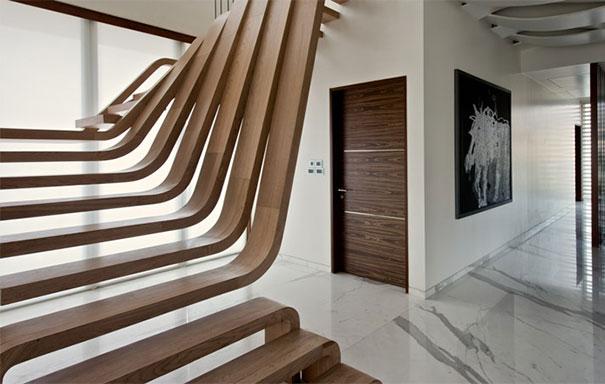 Ideas de decoración: 22 escaleras de diseño para despertar tu imaginación