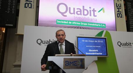 el presidente de Quabit, Félix Abanades