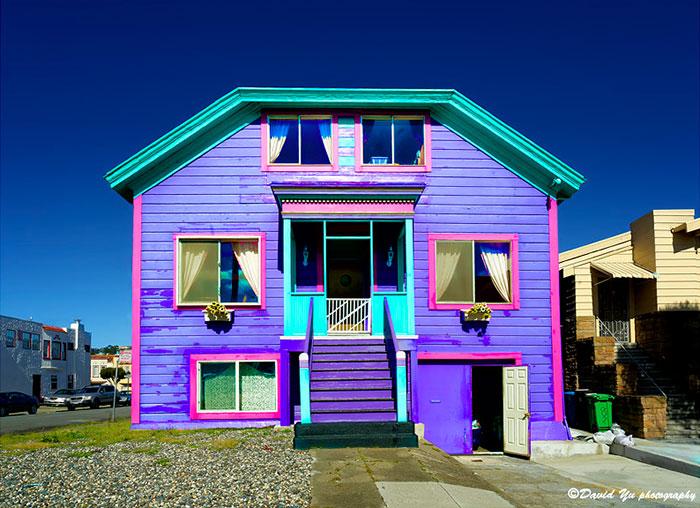 Las casas m s bonitas y coloridas del mundo una est en for Las casas mas hermosas del mundo
