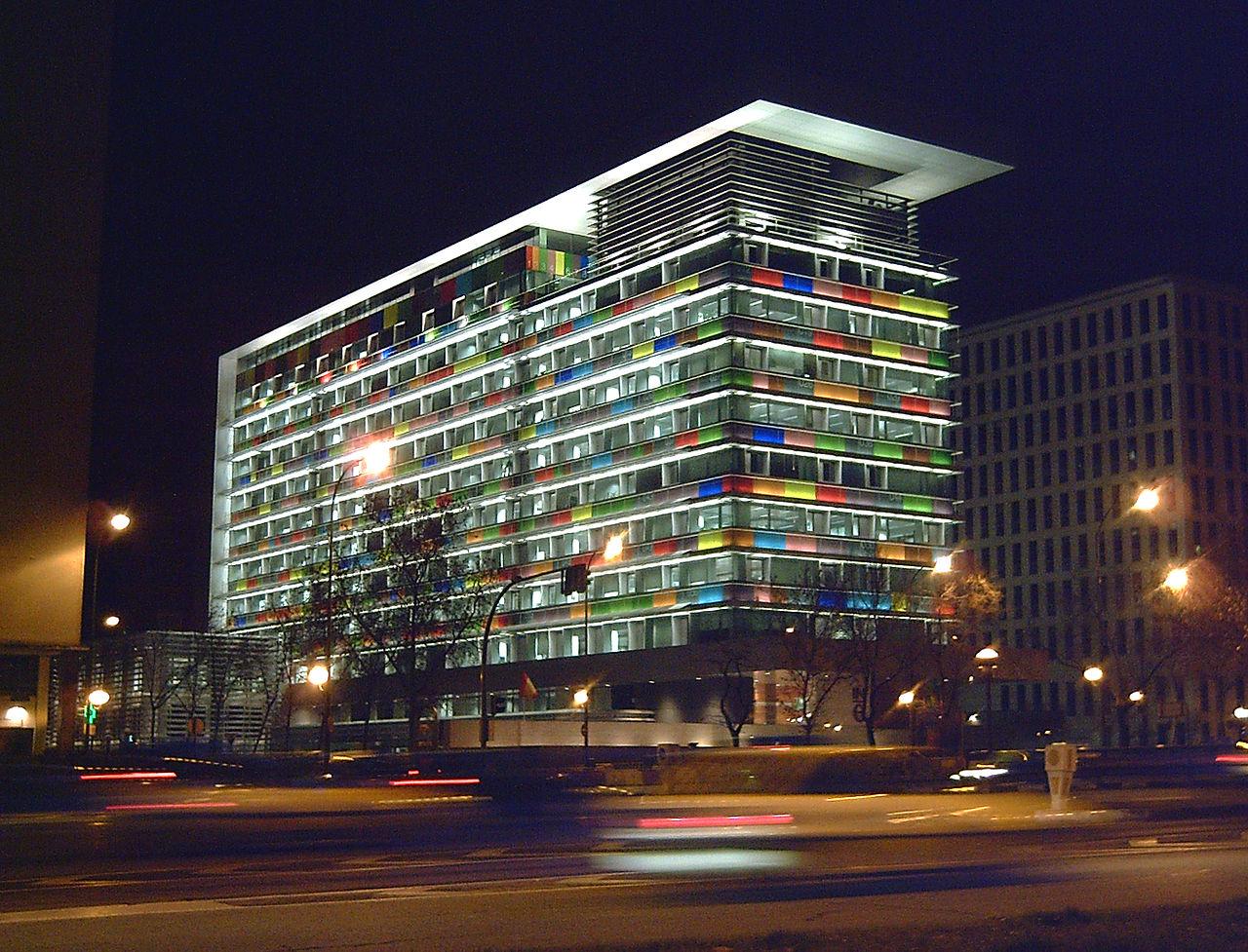 Sede del INE en Madrid