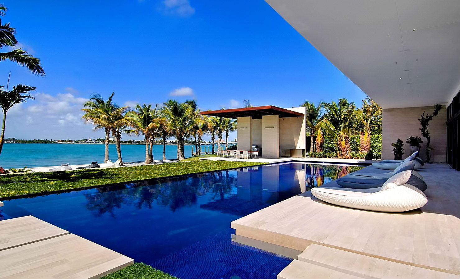 La isla de los ricos y famosos no es un reality sino el barrio de miami donde tienen casa - Casas de millonarios ...