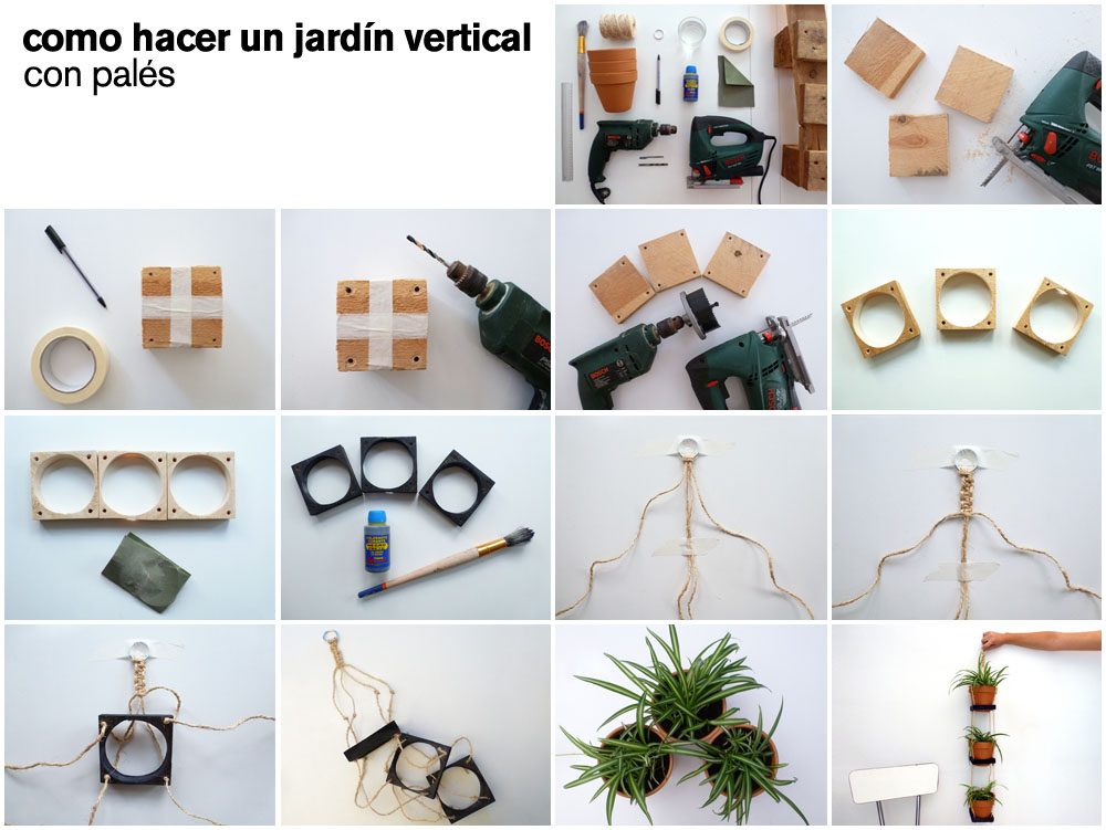 39 do it yourself 03 c mo hacer un jard n vertical con - Como crear un jardin ...