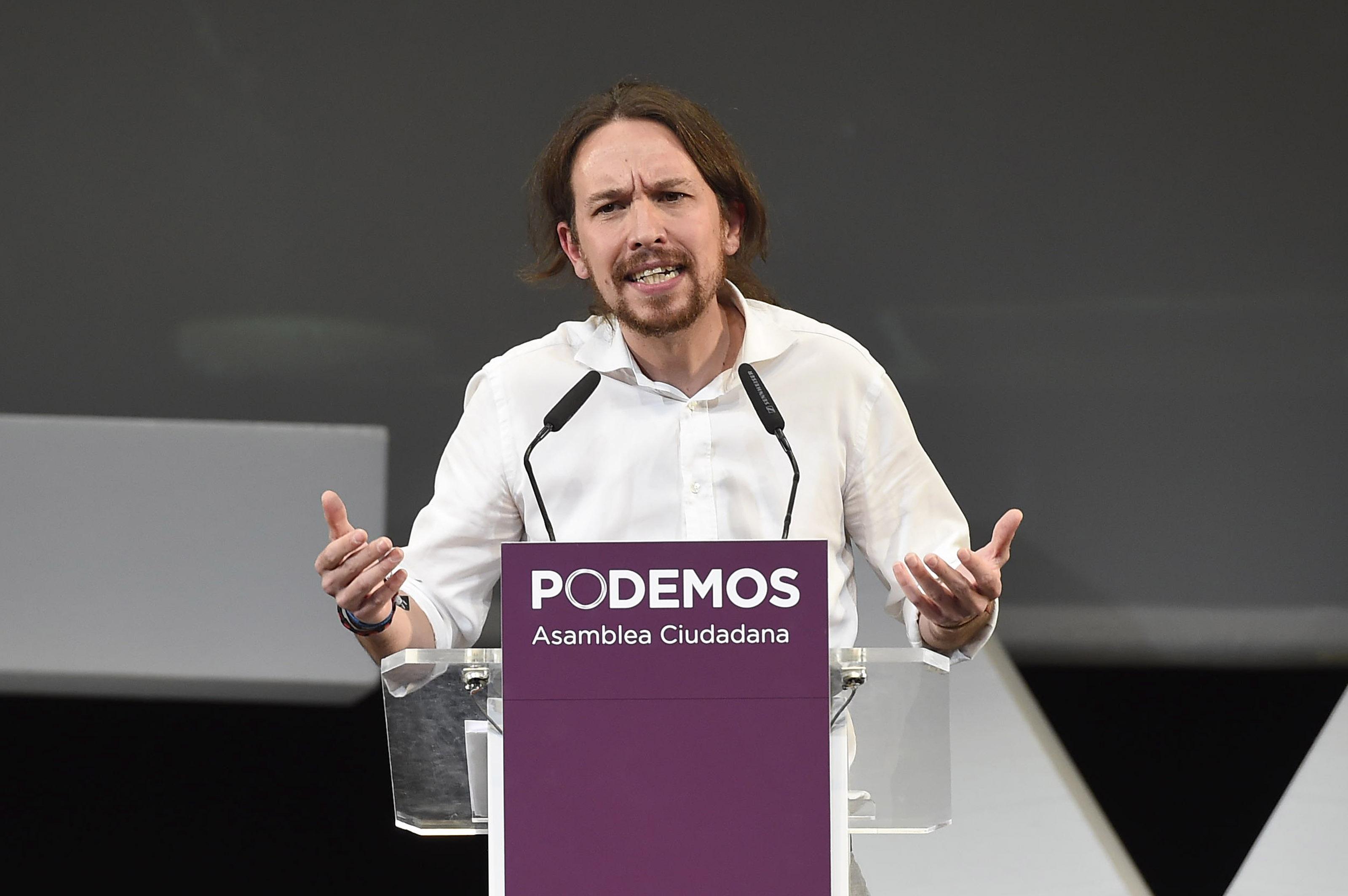 """Pablo Iglesias: """"mi primera medida como presidente del Gobierno será acabar con los desahucios"""""""