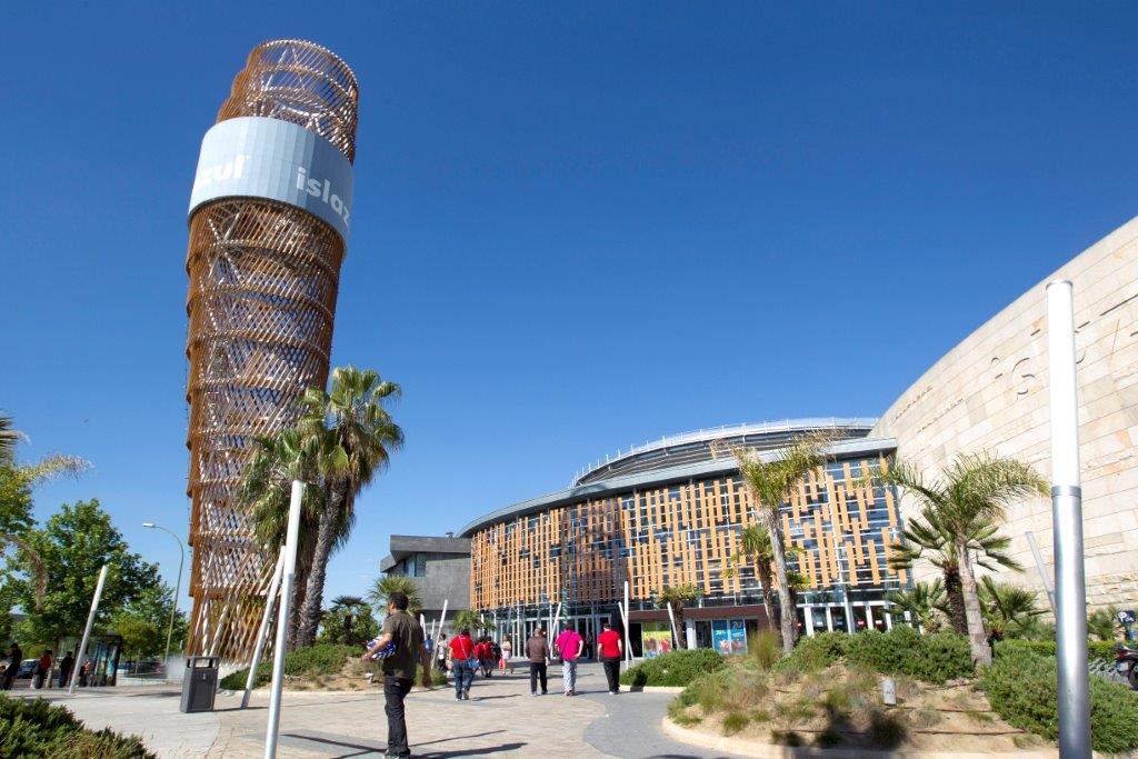 Centro comercial Islazul en Madrid