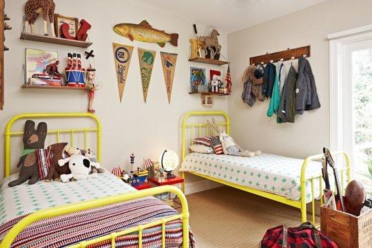 12 habitaciones infantiles decoradas con originales for Imagenes de habitaciones decoradas