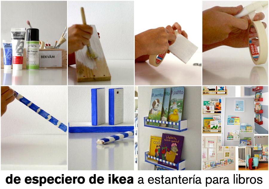 39 do it yourself 07 especieros de ikea para exhibir los libros de los ni os idealista news - Ikea estanterias ninos ...