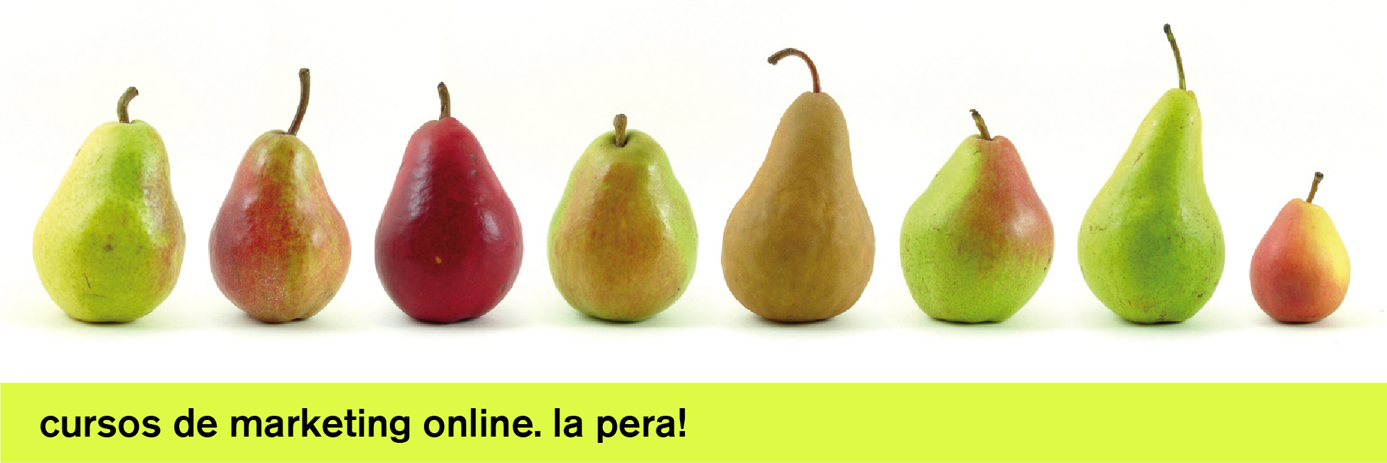 cursos de marketing online. la pera!